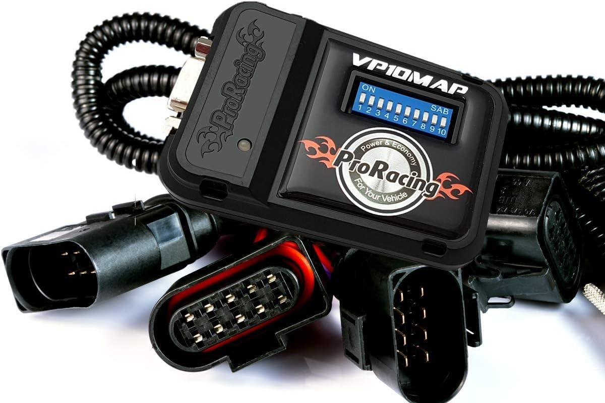 PowerBox VP37 ProRacing para V.W T4 TRANSPORTER 2.5 TDI 88 102 150 PS