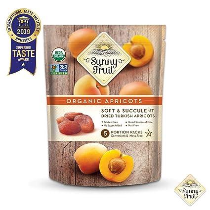 Frutas secas Sunny Fruit – 1, 3 y 6 bolsas: Amazon.com ...