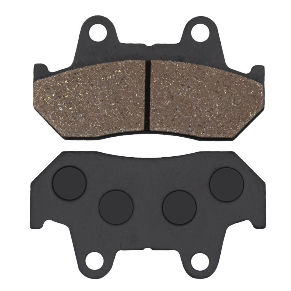 Amazon.com: Cyleto Front and Rear Brake Pads For Honda CX500 EC/FT500 C 1982 / CX500 TCC Turbo 1983: Automotive