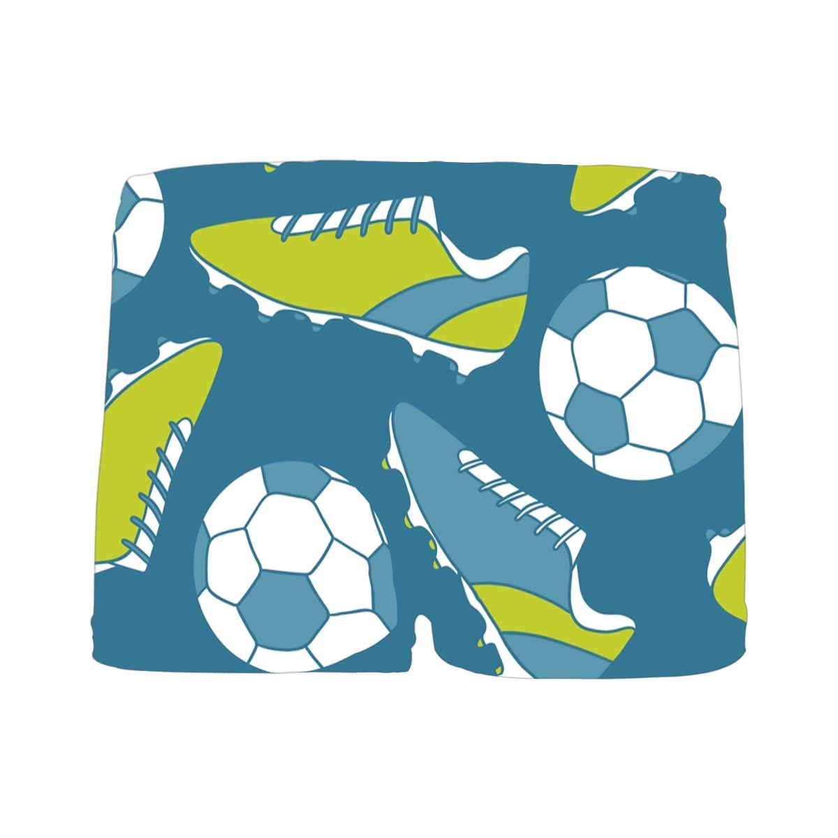 5T-2XL INTERESTPRINT Boys Soccer Shoes and Balls ComfortSoft Printed Boxer Briefs