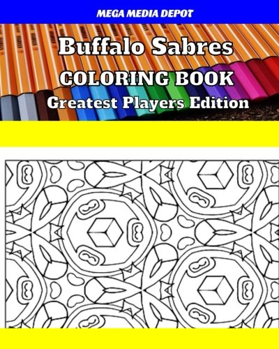Buffalo Sabres Coloring Book Greatest Players Edition -