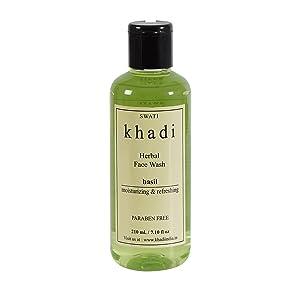 Khadi Basil Face Wash - 210 ml