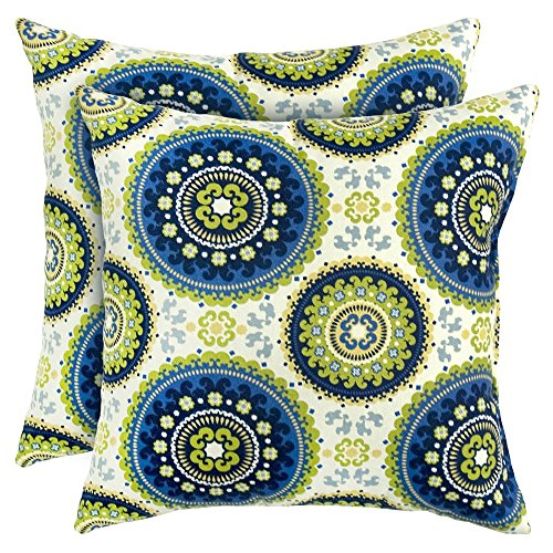 Amazon.com: Greendale Home Fashions 16.9 x 16.9 in Juego de ...