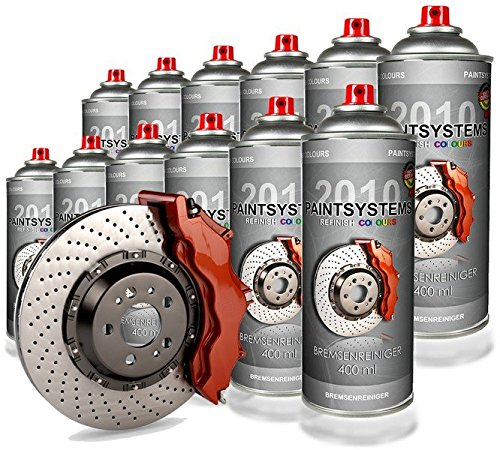 Bremsenreiniger - Teilereiniger - Brake Cleaner 12x 400ml Spraydose Paintsystems GmbH