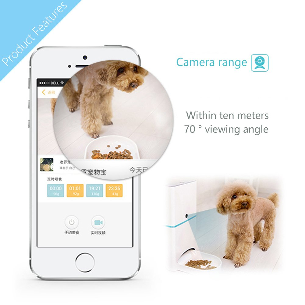 pet smart wi for with items portfolio and remote control feeder cats dogs automatic unecam camera fi