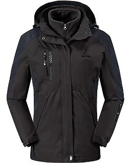 Amazon.com : Diamond Candy Women Windproof Hooded Ski ...