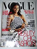 Vogue Magazine May 2005: Liya Kebede Cover Model with a Cause, Reality Chic fashion