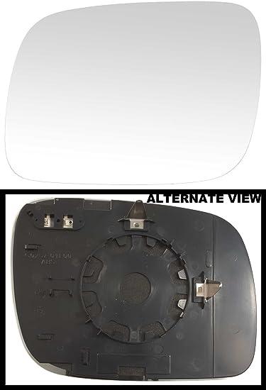 Amazon Com Apdty 67949 Side Mirror Replacement Glass Fits Left Driver Side 04 06 Vw Touareg 07 Vw Touareg V8 4 2l 4172cc V8 4 2l 4163cc V6 219 3 6l 3597cc Models With Power