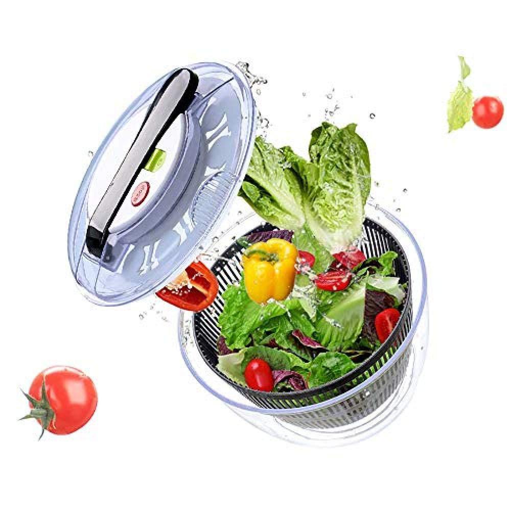 SJXmeet Vegetable Dryer Dehydrator Salad Spinner Washing Dish Dehydration Pot Salad Fruit Salad Spinner Manual Water Dewatering Machine by SJXmeet