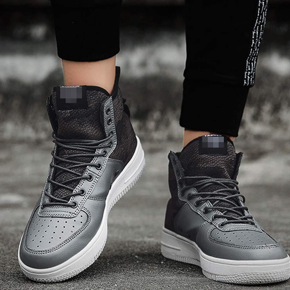 CYL Männer High-Top-Schuhe Persönlichkeit Freizeit Sport Sport Sport Vielseitig Warmen Verschleißfesten Komfort Atmungsaktive Rutschfeste Schuhe 74d690