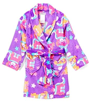 Amazon.com  Komar Kids Girl s Purple Winter Puppy Dog Luxe Fleece ... 527e7832e