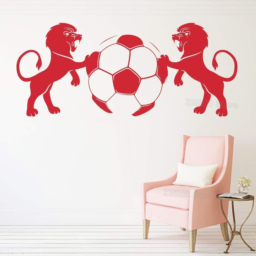 yiyiyaya Emblema de fútbol Tatuajes de Pared Dormitorio para niños ...