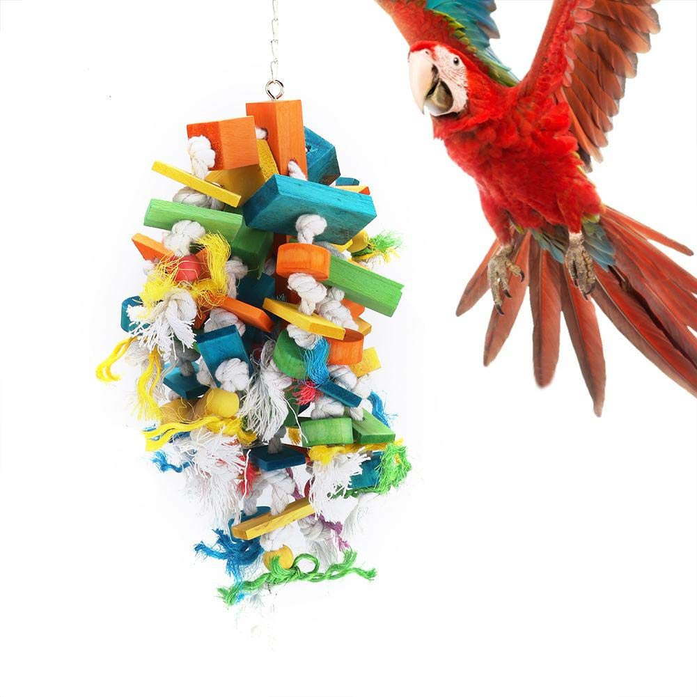 Bird Hanging Toy, for Pet Chewing Playing Hanger by Pangding