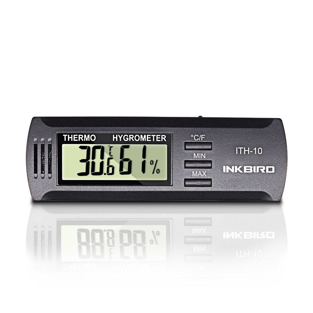 Inkbird Dc 3V Input Digital Thermometer & Humidity Meter Hygrometer ITH-10 by Inkbird (Image #2)