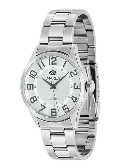 1ef998877739 Ref. 36103/2 Reloj Marea Caballero, caja y pulsera de acero, esfera ...