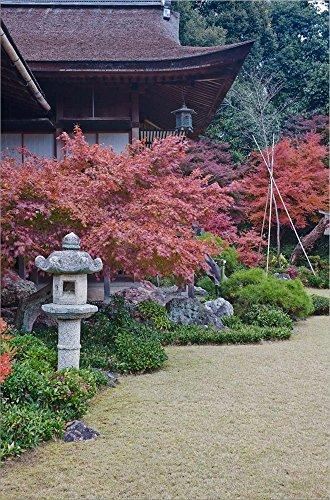 Rob Okochi Sanso Kyoto Japan - Okochi Sanso Villa, Sagano, Arashiyama, Kyoto, Japan by Rob Tilley/Danita Delimont Laminated Art Print, 13 x 20 inches