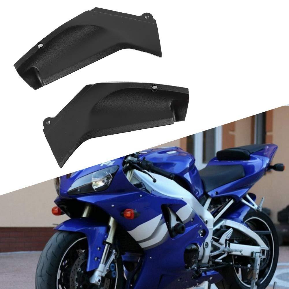 nero KIMISS Coppia moto di pannelli laterali pannello di copertura carena sinistra e destra parte adatta per YZF R1 1998-2001