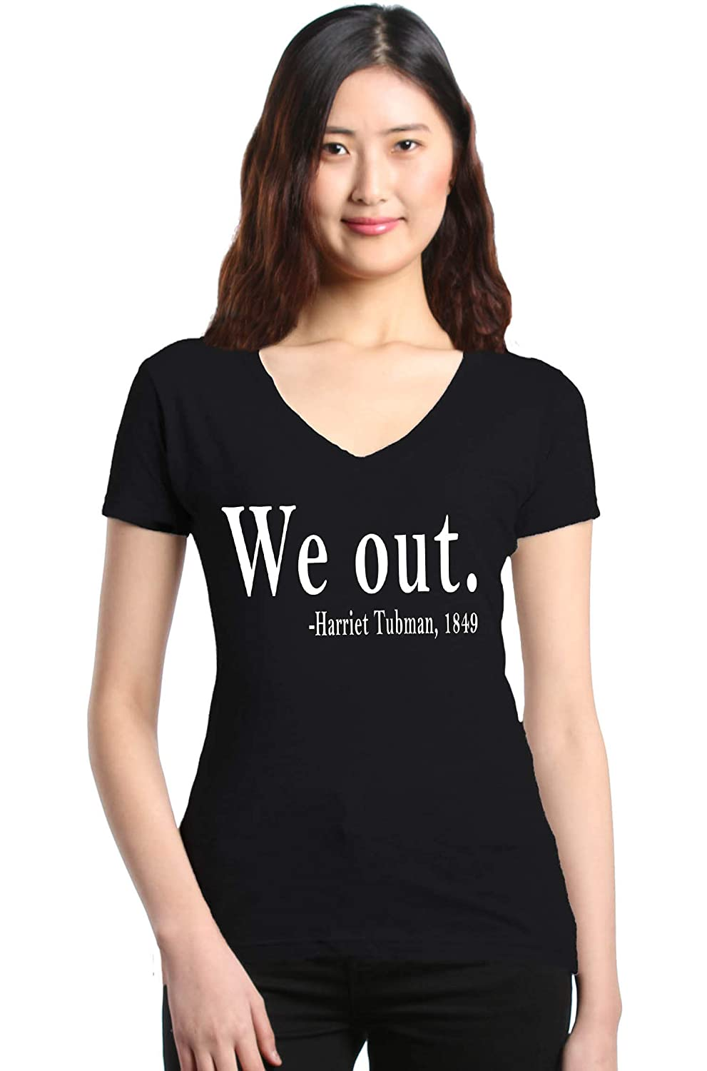1849 Women/'s Tank Top Black History Tee Shop4Ever We Out Harriet Tubman