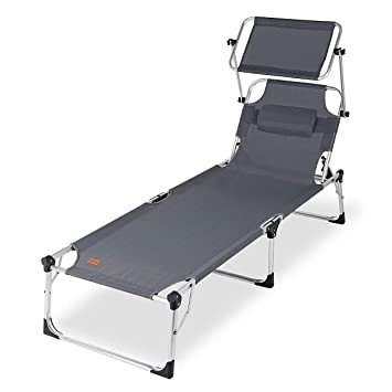 sekey chaise longue pliante bain de soleil lit de soleil transat de jardin - Transat Soleil