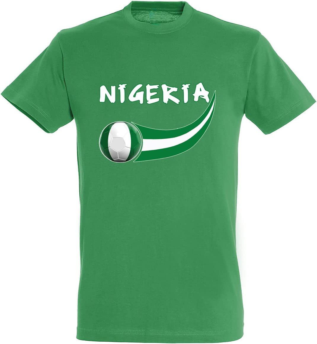 Supportershop – 8 Camiseta Nigeria niño 8 para niño, Verde, FR: L ...