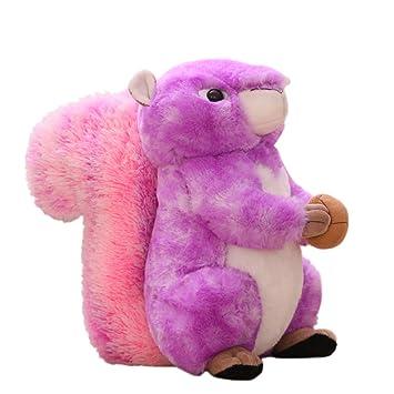 Amazon.com: Muñeca de peluche con diseño de ardilla para ...