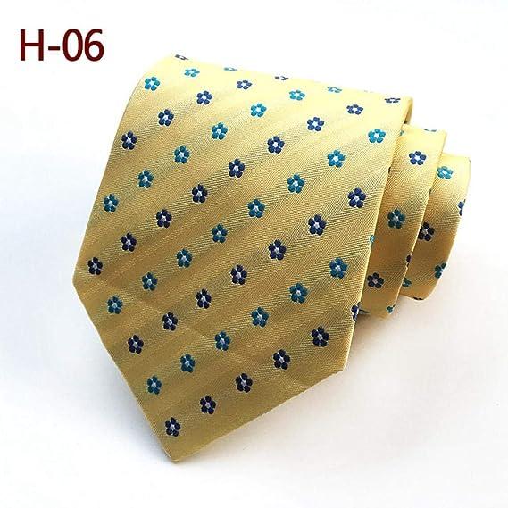 ZHAOSHUNAN Tie cravatta Hombre Azul Marino Vino Rojo Corbata Roja ...
