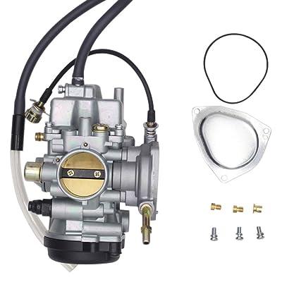 SUNROAD Replacement Carburetor Carb fit for ATV Yamaha 2000-2006 Big Bear Kodiak 400 & 2007-2011 Grizzly 350 450 & 2006-2009 Wolverine 350 & 2007-2010 Wolverine 450: Automotive