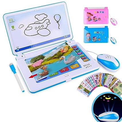 Eleganantamazing - Máquina de Aprendizaje multifunción para bebé, Juguete para Ordenador portátil para niños