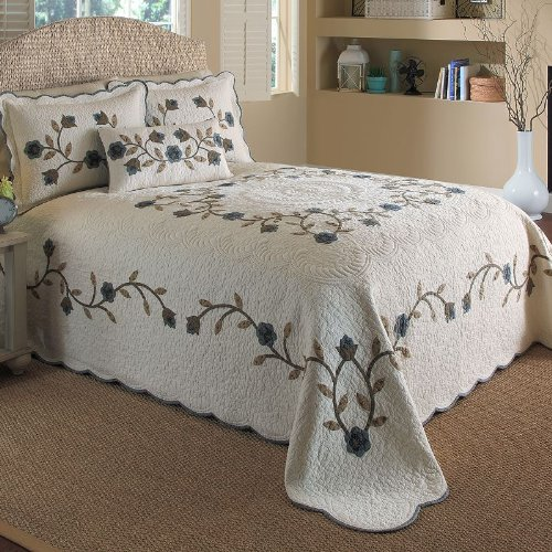 UPC 754605315877, Nostalgia Home Fashions Brockton Bedspread, Queen