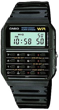 Casio Mens Vintage CA53W-1 Calculator Watch