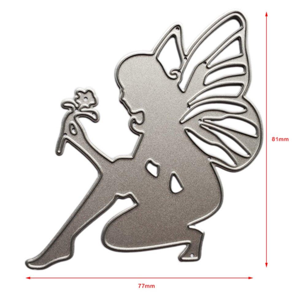 La Cabina Dies Scrapbooking Bricolage Album de Cactus de Bricolage D/écoupage Carr/é Stencils Embossing Card Album de Scrapbooking R