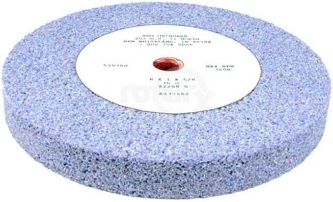Premium Ceramic Wheel Blue 8 X 1 X 5//8 RBG 2208