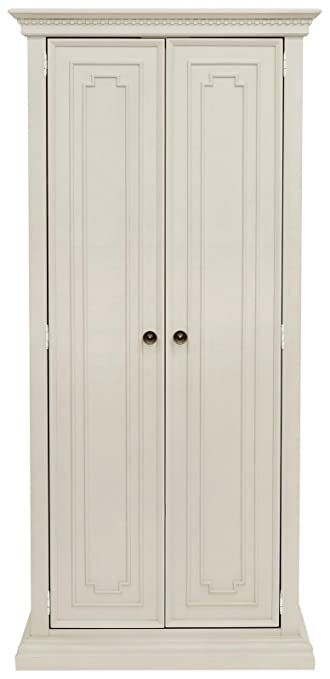 Franklin U0026 Ben Nelson Armoire In Distressed White Finish