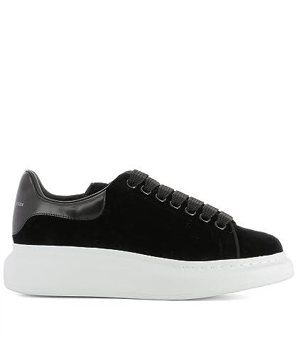 edf46b91c23bce Alexander McQueen Damen 482142W4FKT1000 Schwarz Wildleder Sneakers ...