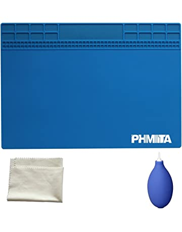 PHIMIITA Soldering Soldadura de MAT Heat Resistant 500°C Mini Soldering Station Insulation Pad for