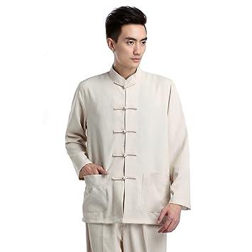 Amazon.com: zooboo ropa de hombre chino tradicional Tang ...