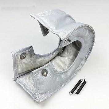 Universal Turbo manta calor Shield Turbocompresor Cubierta Wrap para T28 T3 T 3 GY: Amazon.es: Coche y moto