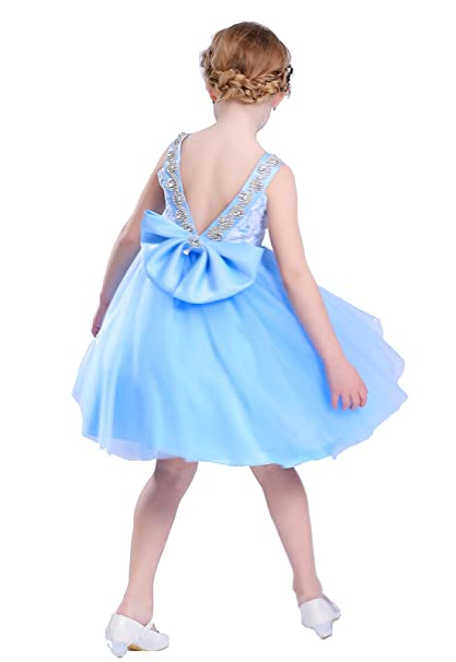 Amazon.com: Happy Rose vestido de niña de flores vestido de ...