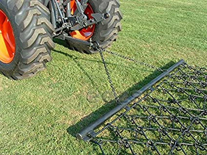 12 x 7 6 Pasture Drag Chain Harrow 1//2