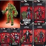 blade marvel legends - Marvel Knights Marvel Legends Netflix 6-Inch Action Figures Set Of 6