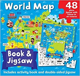 World map jigsaw box book jigsaw set amazon autumn world map jigsaw box book jigsaw set amazon autumn publishing 9781782965695 books gumiabroncs Images