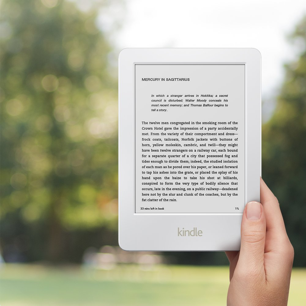 Certified refurbished kindle 6 glare free touchscreen display wi certified refurbished kindle 6 glare free touchscreen display wi fi white includes special offers amazon kindle store fandeluxe Gallery