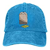 Moonmoon Unisex Tea Bag Personal Group Athletic Cowboy Cap Peaked Baseball Cap