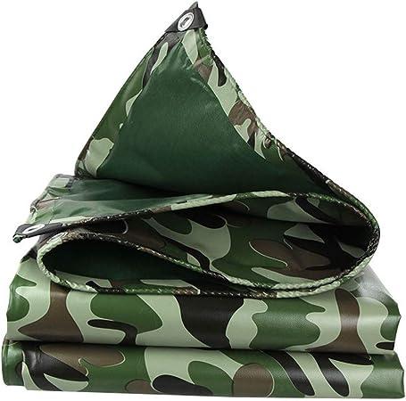 NLPB-Y Lona de PVC de Alta Resistencia | Funda Impermeable para Remolque Tienda de campaña | - Lona de Camuflaje - Multi-tamaño Opcional 3X4M: Amazon.es: Hogar