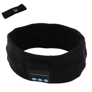 Szjsl Auricular Bluetooth, auriculares inalámbricos Bluetooth Auricular estéreo inalámbrico Auriculares deportivos Correa de yoga para correr, ...