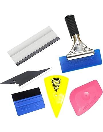 grattoirs pour d/égivreur de voiture pare brise Grattoir /à glace 2 en 1 outil de pelle pour grattoir /à neige dune brosse /à neige extensible avec une poign/ée en mousse grattoir /à /éponge et glace