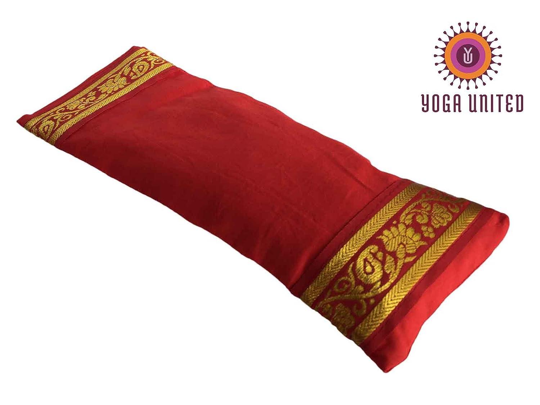 Yoga United – Almohada Relajante para los Ojos (Rojo