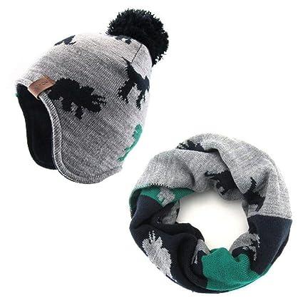 ultimo design Miglior prezzo bella vista zyyaxky Cappello per Bambini Autunno E Inverno Paraorecchie ...