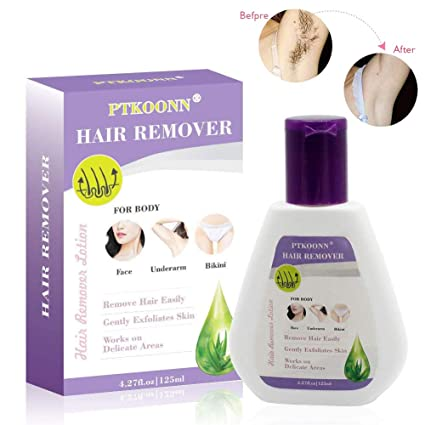 Crema Depilatoria Natural,Hair Remover para,Facial, Cuerpo, Bikini y Piernas Crema Inhibidora de Crecimiento de Cabello,Minimiza el Crecimiento de ...