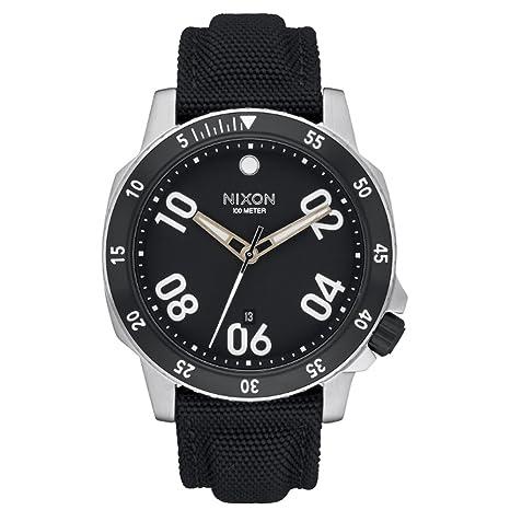 Nixon – Reloj de pulsera hombre Ranger analógico de cuarzo Nylon a942000 – 00